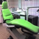 exemple d'une réfection d'un fauteuil de dentiste