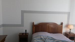 peinture intérieure de CHAMBRE QUIMPERLE