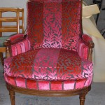 fauteuil tapisserie