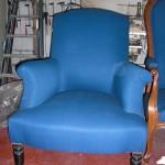 fauteuil old school