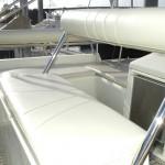 interieur de bateau : sellerie