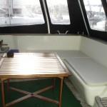 sellerie interieur de bateau
